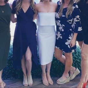 Likely Dresses - Likely white strapless dress